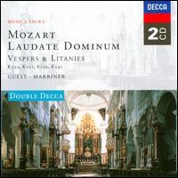 Mozart: Laudate Dominum; Vespers & Litanies - David Hill (organ); Felicity Palmer (soprano); George Malcolm (organ); Helen Watts (contralto); Ileana Cotrubas (soprano);...