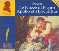 Mozart: Le Nozze di Figaro; Apollo et Hyacinthus (Box Set) - Arno Raunig (descant); Axel Köhler (alto); Béatrice Cramoix (vocals); Christiane Oelze (vocals); Harry van der Kamp (vocals);...