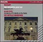 Mozart: Les Concertos pour cor; Rondo K. 371