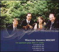 Mozart: Les quatuors pour fl�te et cordes - Bruno Grossi (flute); Juan Lucas Aisemberg (viola); Piero Toso (cello)