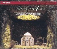 Mozart: Litanies, Vespers, Etc. - Annelies Burmeister (contralto); Dagmar Schellenberger (soprano); Eberhard Büchner (tenor); Elizabeth Bainbridge (contralto);...