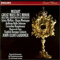 Mozart: Mass in C minor - Alastair Mitchell (bassoon); Anthony Robson (oboe); Anthony Rolfe Johnson (tenor); Cornelius Hauptmann (bass); Diana Montague (soprano); English Baroque Soloists; Lisa Beznosiuk (flute); Sylvia McNair (soprano); Monteverdi Choir (choir, chorus)