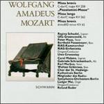 """Mozart: Missa brevis KV 65 & KV 258; Missa longa KV 262 """"Piccolomini-Messe"""""""
