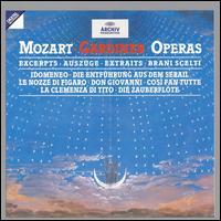 Mozart: Opera Excerpts - Alison Hagley (vocals); Amanda Roocroft (vocals); Andrea Silvestrelli (vocals); Angela Kazimierczuk (soprano);...