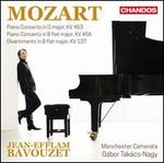 Mozart: Piano Concerto in G major, KV 453; Piano Concerto in B flat major, KV 456; Divertimento in B flat major, KV 1