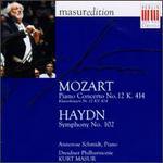 Mozart: Piano Concerto No. 12; Haydn: Symphony No. 102