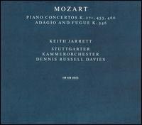 Mozart: Piano Concertos K. 271, 453, 466 - Keith Jarrett (piano); Stuttgart Chamber Orchestra; Dennis Russell Davies (conductor)