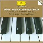 Mozart: Piano Concertos Nos. 16 & 20