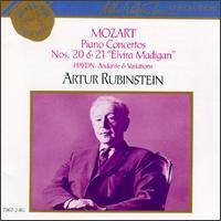 Mozart: Piano Concertos Nos. 20 & 21/Haydn: Andante & Variations - Arthur Rubinstein (piano); RCA Victor Orchestra; Alfred Wallenstein (conductor)