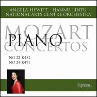 Mozart: Piano Concertos Nos. 22 & 24 - Angela Hewitt (piano); National Arts Centre Orchestra; Hannu Lintu (conductor)