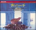 Mozart: Piano Variations; Rondos; Etc.