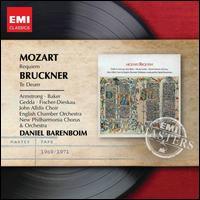 Mozart: Requiem; Bruckner: Te Deum - Anne Pashley (soprano); Birgit Finnila (contralto); Dietrich Fischer-Dieskau (baritone); Don Garrard (bass);...
