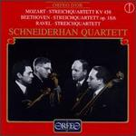 Mozart: Streichquartett KV 458; Beethoven: Streichquartett Op. 18/6; Ravel: Streichquartett