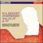 Mozart: Symphonies Nos. 26, 29 & 39
