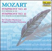 Mozart: Symphonies Nos. 40 & 41 - Prague Chamber Orchestra; Charles Mackerras (conductor)
