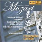 Mozart: Symphony in C major; Symphony in D major; Der Schauspieldirektor