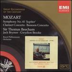 "Mozart: Symphony No. 41 ""Jupiter""; Clarinet Concerto; Bassoon Concerto"