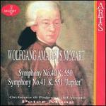"""Mozart: Symphpny No. 40; Symphony No. 41 """"Jupiter"""""""