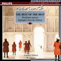 Mozart: The Best of the Best - Academy of St. Martin-in-the-Fields Chamber Ensemble; Alfred Brendel (piano); Anton Scharinger (bass); Barbara Hendricks (soprano); Dalton Baldwin (piano); Eduard Brunner (clarinet); Elly Ameling (soprano); Francisco Araiza (tenor)