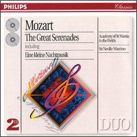 Mozart: The Great Serenades - Iona Brown (violin); Malcolm Latchem (violin); Michael Laird (posthorn); Raymund Koster (double bass);...