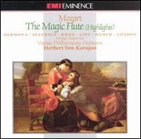 Mozart: The Magic Flute (Highlights) - Anton Dermota (tenor); Else Schürhoff (mezzo-soprano); Emmy Loose (soprano); Erich Kunz (baritone); Friedl Riegler (soprano);...