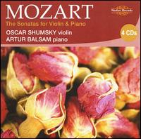 Mozart: The Sonatas for Violin & Piano - Artur Balsam (piano); Oscar Shumsky (violin)