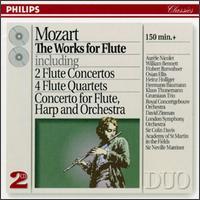 Mozart: The Works for Flute - Arthur Grumiaux (violin); Aurèle Nicolet (flute); Eva Czako (cello); Georges Janzer (viola); Grumiaux Trio;...