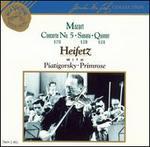 Mozart: Violin Concerto No. 5, K219; Sonata K378; Quintet, K516