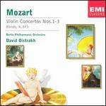 Mozart: Violin Concertos Nos. 1-3; Rondo