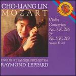 Mozart: Violin Concertos Nos. 3 & 5; Adagio for Violin & Orchestra