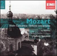 Mozart: Violin Concertos; Sinfonia Concertante - Joseph Joachim (candenza); Vladimir Spivakov (candenza); Vladimir Spivakov (violin); Wolfgang Amadeus Mozart (candenza);...