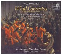 Mozart: Wind Concertos - Donna Agrell (bassoon); Katharina Arfken (oboe); Teunis van der Zwart (horn); Freiburger Barockorchester;...