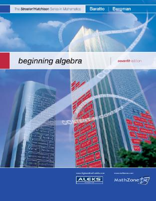 MP Beginning Algebra - Hutchison, Donald, and Baratto, Stefan, and Bergman, Barry