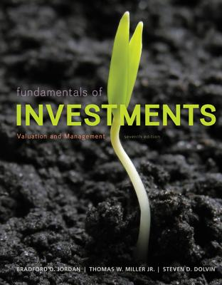 MP Fundamentals of Investments with Stock-Trak Card - Jordan, Bradford D, Professor, and Miller, Thomas, and Dolvin, Steve