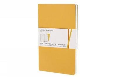 Ms Ruled Volant Golden Yellow Large - Moleskine