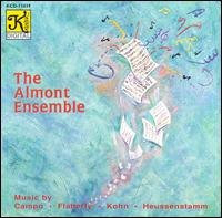 Music by Campo, Flatterly, Kohn, Heussenstamm - The Almont Ensemble (chamber ensemble)