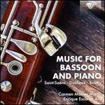 Music for Bassoon and Piano: Saint-Saëns, Dutilleux, Boutry