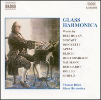 Music for Glass Harmonica - Christine Icart (harp); Damien Top (tenor); Ettore Borri (piano); Jean Sulem (viola); Marc Marder (double bass);...
