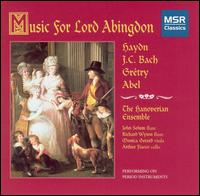 Music for Lord Abingdon - Hanoverian Ensemble