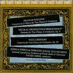 Music for Two Pianos and Orchestra by Poulenc, Berezowsky, Creston