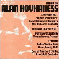 Music of Alan Hovhaness - Eudice Shapiro (violin); Gretel Shanley (flute); Thomas Stevens (trumpet)