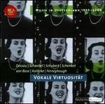 Musik in Deutschland 1950-2000, Vol. 32: Vokale Virtuosität