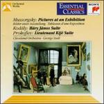 Mussorgsky: Pictures at an Exhibition; Kodály: Háry János Suite; Prokofiev: Lt. Kijé Suite