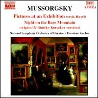 Mussorgsky: Pictures at an Exhibition; Night on the Bare Mountain - National Symphony Orchestra of Ukraine; Theodore Kuchar (conductor)