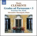 Muzio Clementi: Gradus ad Parnassum, Vol. 3
