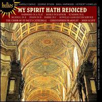 My Spirit Hath Rejoiced - Alan Green (tenor); Ashley Stafford (counter tenor); Christopher Dearnley (organ); Geoffrey Shaw (bass);...