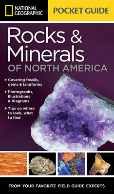 National Geographic Pocket Guide to Rocks and Minerals of North America - Garlick, Sarah