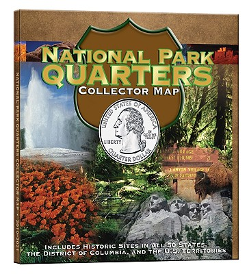 National Park Quarter Foam Map - Publishing, Whitman