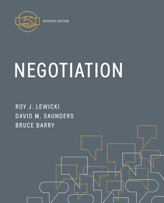 Negotiation - Lewicki, Roy, and Saunders, David, and Barry, Bruce
