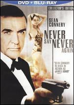 Never Say Never Again [2 Discs] [DVD/Blu-ray]